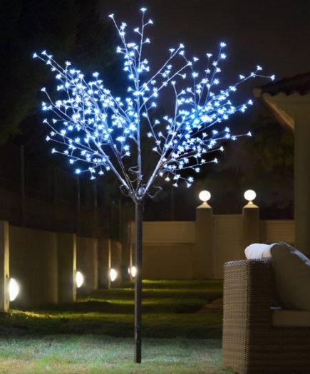 xekios Arbre Décoratif à Fleurs (350 LED)