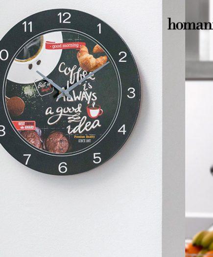 xekios Horloge Murale Food Homania