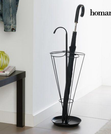 xekios Porte-parapluie Métallique Black Homania