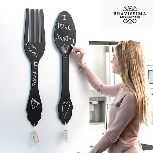 xekios Ardoise pour Cuisine Couvert XXL Bravissima Kitchen