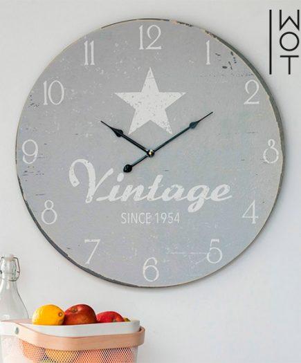 xekios Horloge murale Star XL Vintage Coconut
