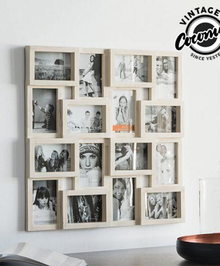 xekios Cadre Photo Puzzle Vintage Coconut (16 photos)
