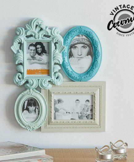 xekios Cadre Photo Empire Vintage Coconut (4 photos)