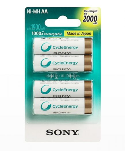 xekios Piles Rechargeables Sony Ni-MH AA 2000 mA 1,2V (pack de 4)