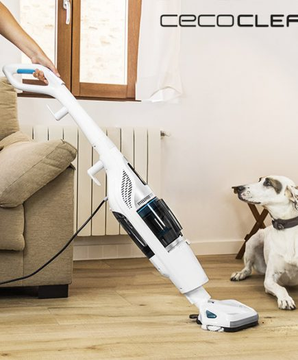 xekios Aspirateur Cyclonique et Vaporetto Cecoclean Steam & Clean 5055 1,2 L 1550W Blanc