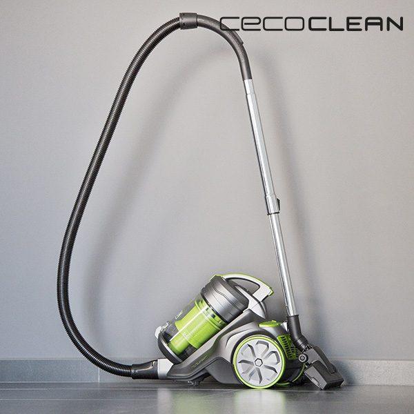 xekios Aspirateur Multi-Cyclonique Cecoclean 5017 3,5 L 850W Gris Vert