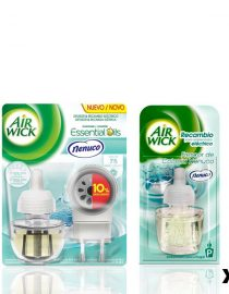 xekios Pack Diffuseur Automatique + 6 Recharges Air Wick Essential Mist (Explosion d'Agrumes)