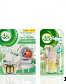 xekios Diffiseur Electrique et Recharge Air Wick White Bouquet