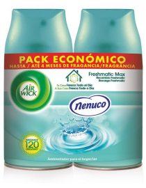 xekios Recharge pour désodorisant Air Wick FreshMatic Duplo White Bouquet 2 x 250 ml
