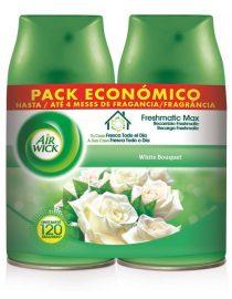xekios Double recharge pour désodorisant Air Wick FreshMatic Nenuco 2 x 250 ml