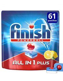 xekios Tablettes pour Lave-vaisselle Finish Quantum Tout en 1 (60 Doses)