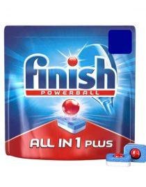 xekios Détergent pour Lave-Vaisselle Finish Power Gel Tout en Un Fresh Burst (50 Doses)