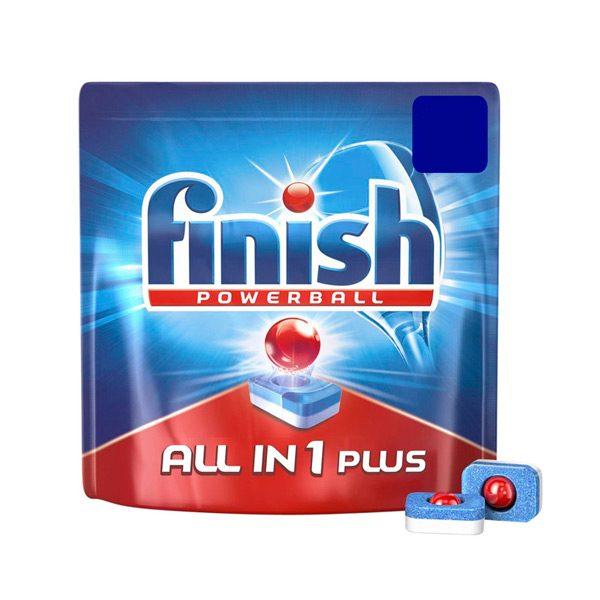 xekios Pastilles pour Lave-Vaisselle Finish Tout en Un Plus Regulier (61 Un.)