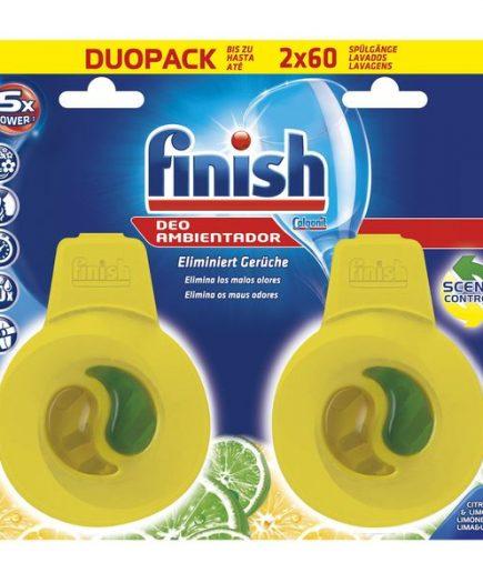 xekios Diffuseur pour Lave-Vaisselle Finish Tout en Un Citron
