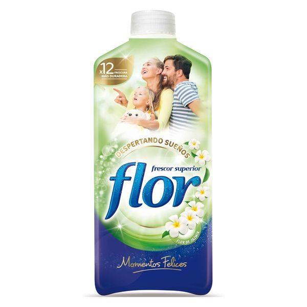 xekios Adoucissant Pour Vêtements Flor Moments 1,4 L (64 Doses)