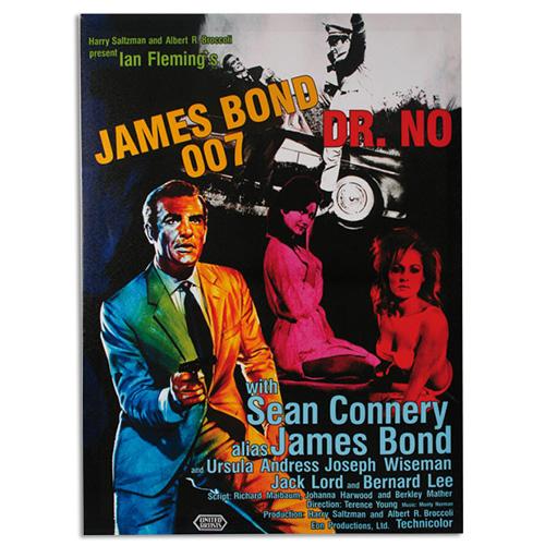 xekios Affiche de Ciné James Bond 007 Dr. No