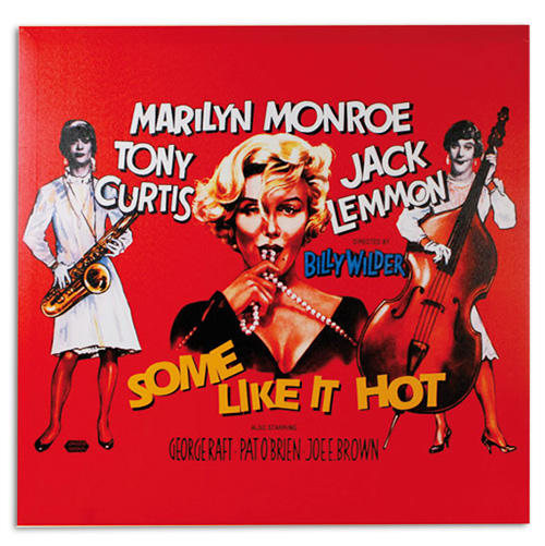xekios Affiche de Ciné Marilyn Monroe Some Like It Hot