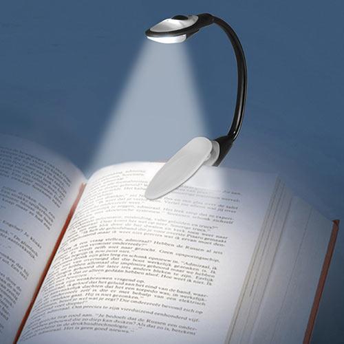 xekios Lampe de Lecture LED avec Clip