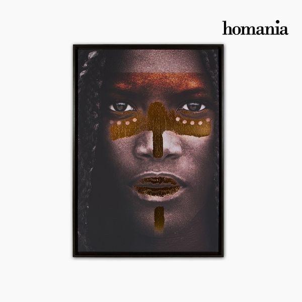 xekios Cadre Numérique Peint Tribu (65 x 93 cm) by Homania