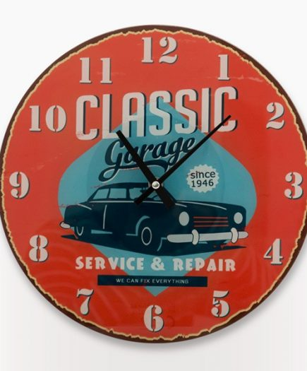 xekios Horloge Murale Classic Garage Vintage Coconut