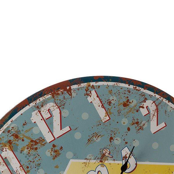 xekios Horloge Murale Mom's Diner Vintage Coconut
