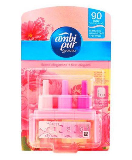 xekios Ambi Pur - 3VOLUTION ambientador recambio flores rosas 21 ml
