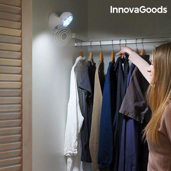 xekios Lampe LED avec Capteur de Mouvement InnovaGoods