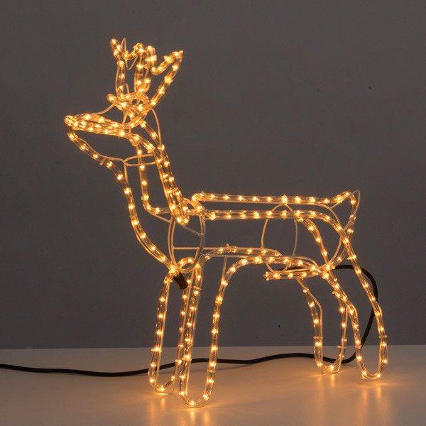 xekios Renne de Noël (216 LED)