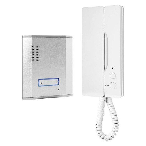 xekios Sonnette avec Interphone Filaire Smartwares IB61SW