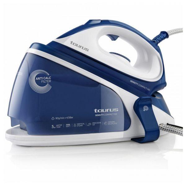 xekios Fer à repasser générateur de vapeur Taurus Sensity Compac NS 1 L 90 g/min 2200W Bleu Blanc