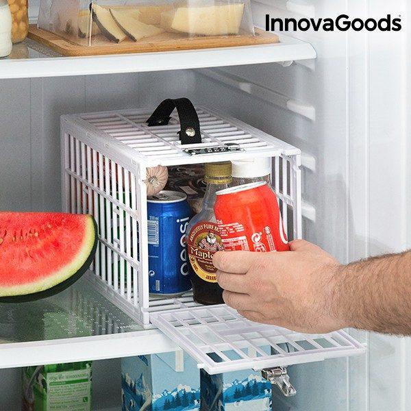 xekios Cage de Sécurité pour Réfrigérateurs Food Safe InnovaGoods